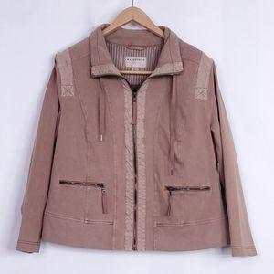 Marrakech {Anthro Plus} Utliity Zip Jacket